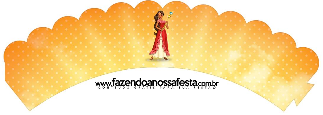 Saias Wrappers para Cupcakes 2 Elena de Avalor
