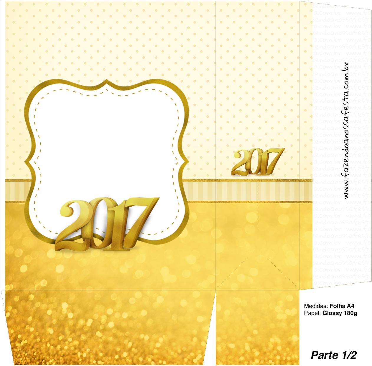 Sacolinha Surpresa 1-2 Kit Festa Ano Novo