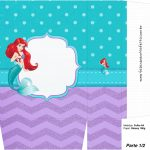 Sacolinha Surpresa 1-2 Pequena Sereia Ariel
