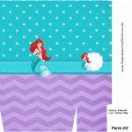 Saquinho Surpresa 2-2 Pequena Sereia Ariel
