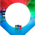 Bandeirinha Varalzinho 3 PJ Masks Kit Festa
