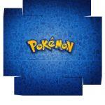 Caixa bombom Pokémon parte de baixo