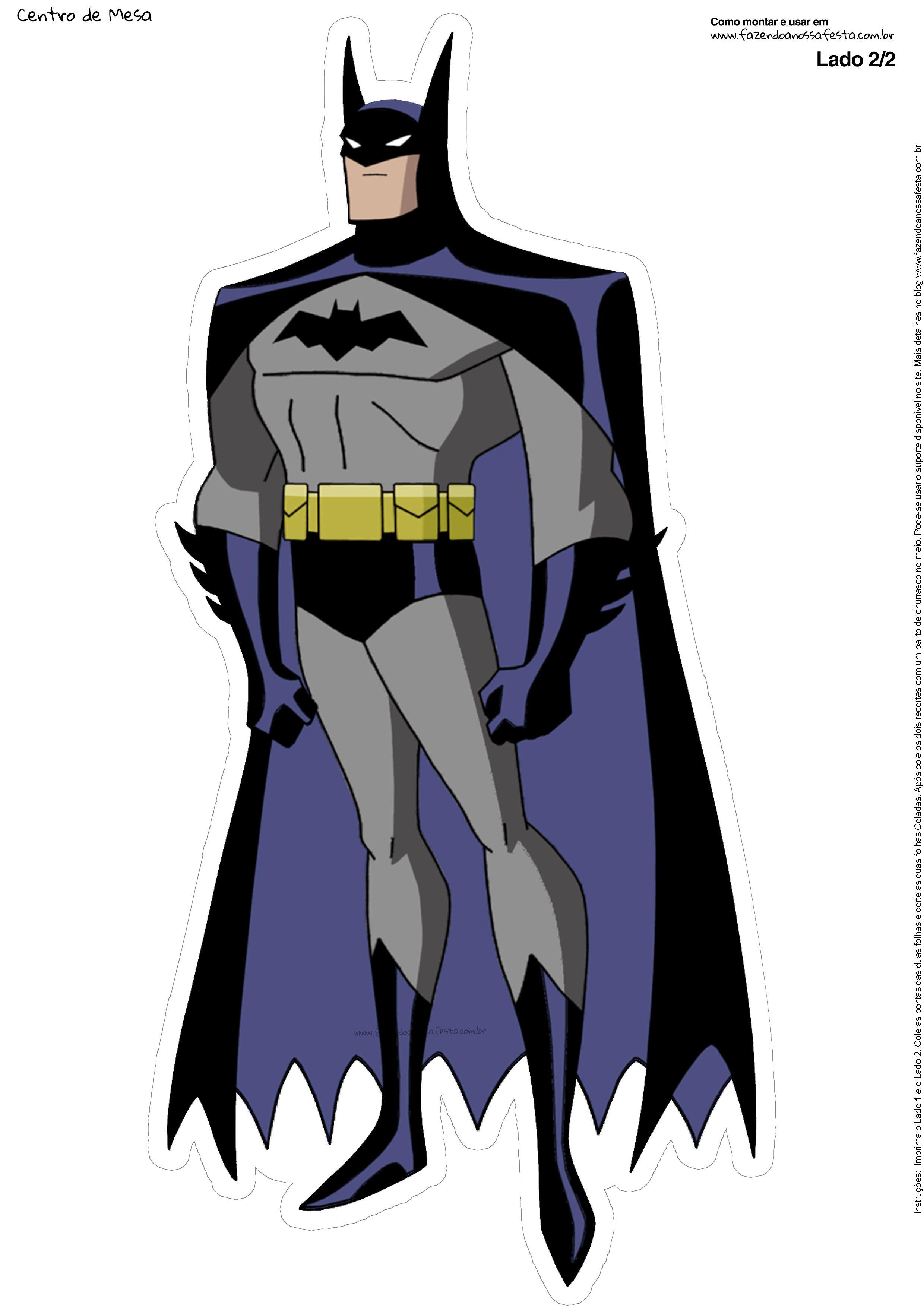 Centro de mesa Batman 2-6-1