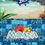 Convite Bis Duplo 3D Moana