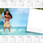 Convite Calendário 2017 Moana