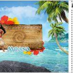 Convite Ingresso Moana
