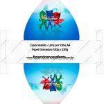 Convite Vestido 2 PJ Masks
