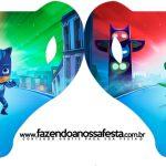 Convite Xícara PJ Masks