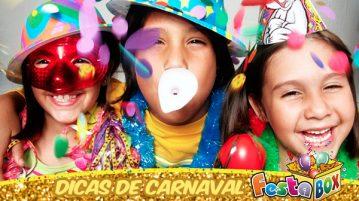 Dicas de Carnaval com Produtos FestaBox