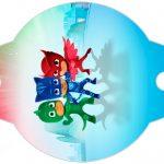 Enfeite Canudinho PJ Masks