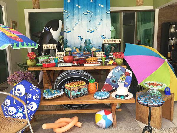 Ideias para Festa Pool Party 2