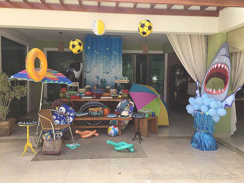 Ideias para Festa Pool Party 4