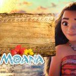Invitations Moana Party