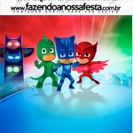 Mini Pastilha Docile PJ Masks Kit Festa