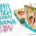 Moana Baby Sacolinha Surpresa para Festa Infantil