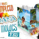 Moana Kit Festa + 140 Moldes Grátis para Imprimir