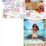 Molde Passaporte Moana