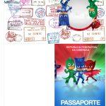 Molde Passaporte PJ Masks