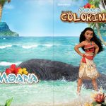 Revista Colorindo Moana