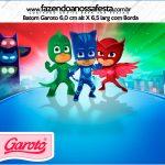 Rótulo Mini Baton Garoto PJ Masks