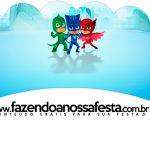 Saias Wrappers para Cupcakes 2 PJ Masks