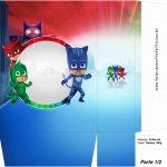 Sacolinha Surpresa 1-2 PJ Masks Kit Festa