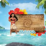 Tag Agradecimento Etiqueta Moana Kit Festa