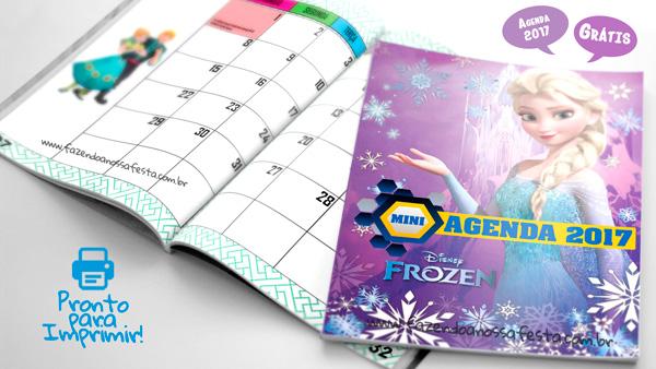 Agenda Frozen Modelo 1