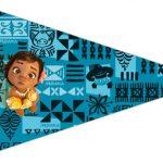 Bandeirinha Sanduiche 3 Moana Baby