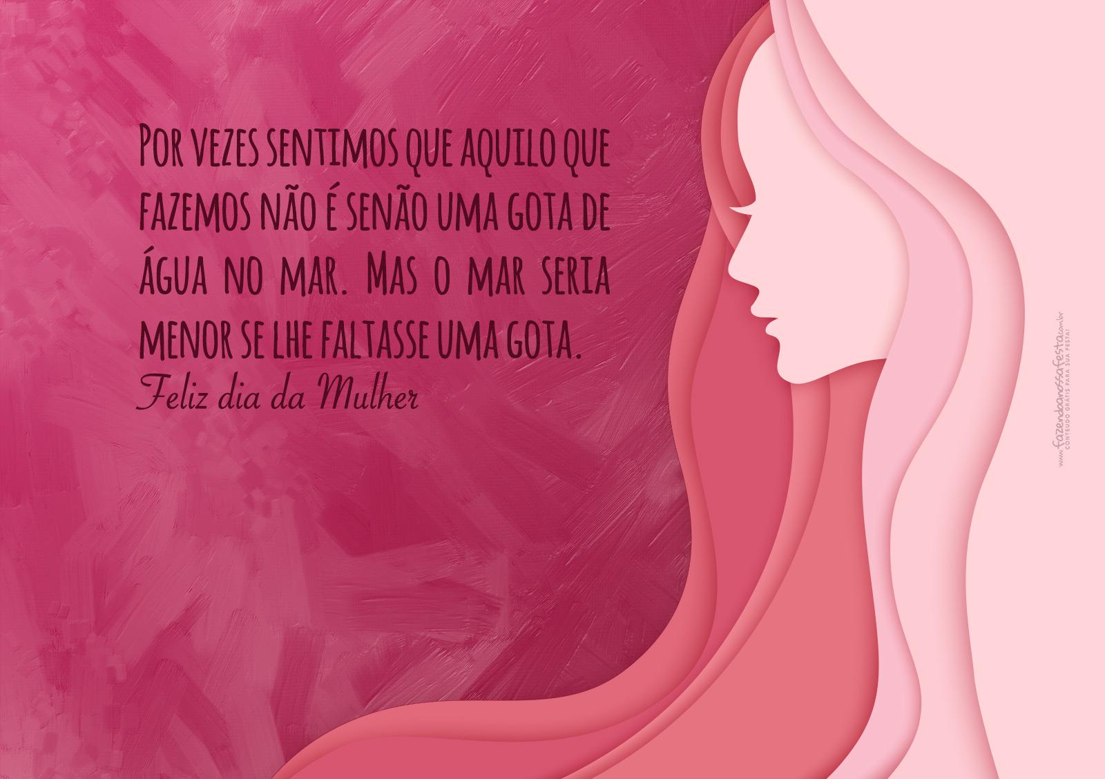 Cartão Dia da Mulher 2017 8