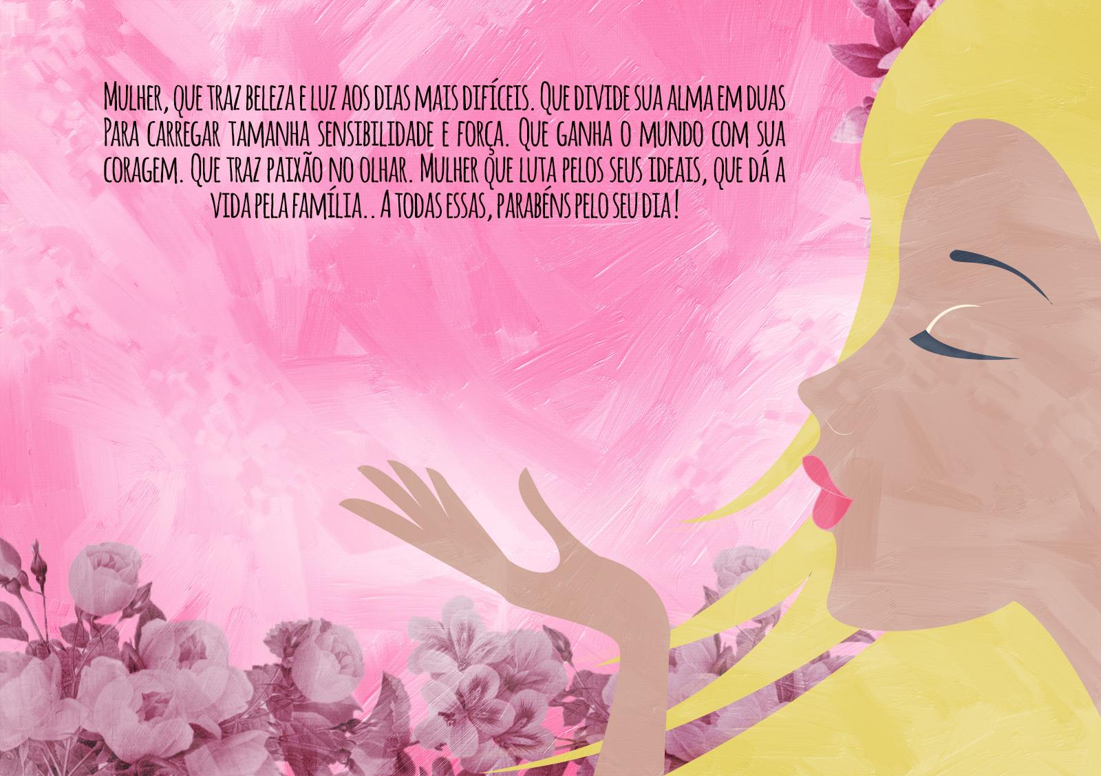 Cartão para Dia da Mulher 2017 3