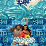 Convite Bis Duplo 3D Moana Baby
