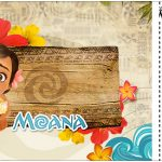 Convite Ingresso Moana Baby