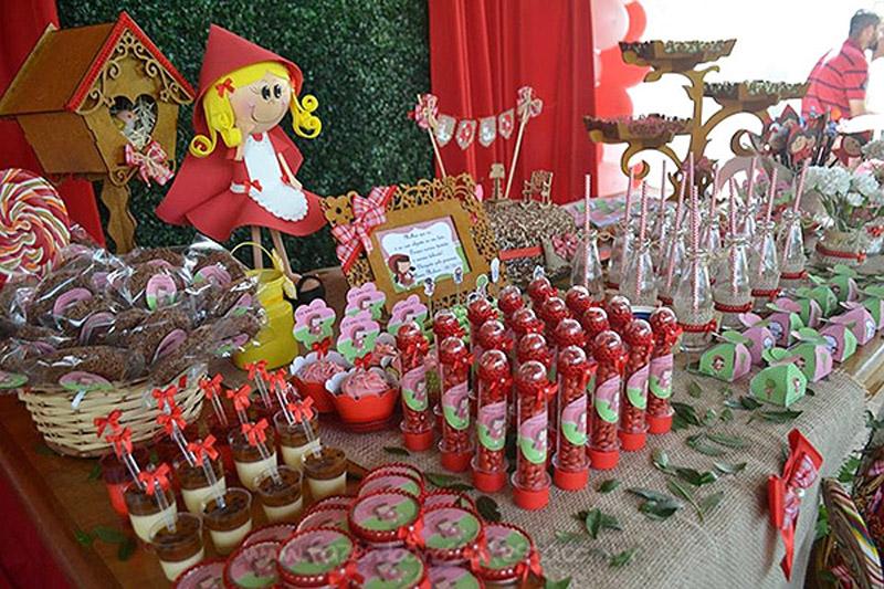 Festa Chapeuzinho Vermelho da Alanis 4