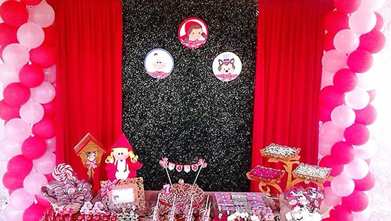 Festa Infantil Chapeuzinho Vermelho da Alanis 8