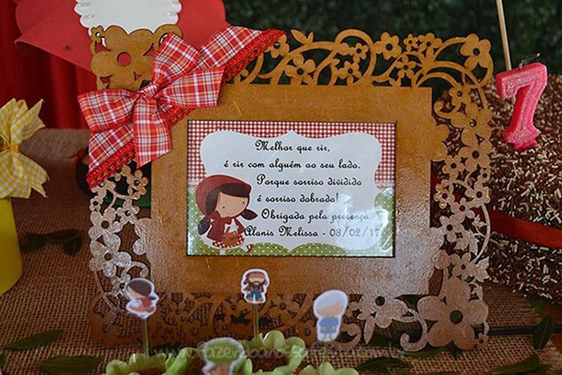 Festa Infantil Chapeuzinho Vermelho da Alanis 6