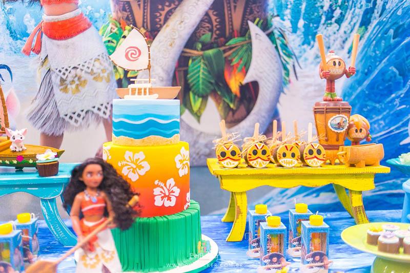 Festa Infantil Moana 38