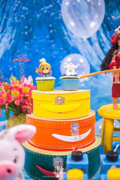 Festa Infantil Moana 8