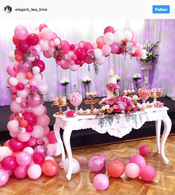 Ideia com balões - Arcos desconstruídos 12