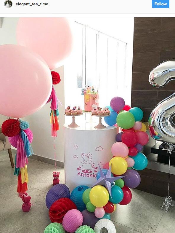 Ideia com balões - Arco de Balões Desconstruídos 17