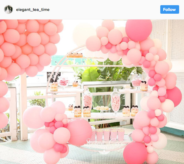 Ideia com balões - Arcos desconstruídos 18