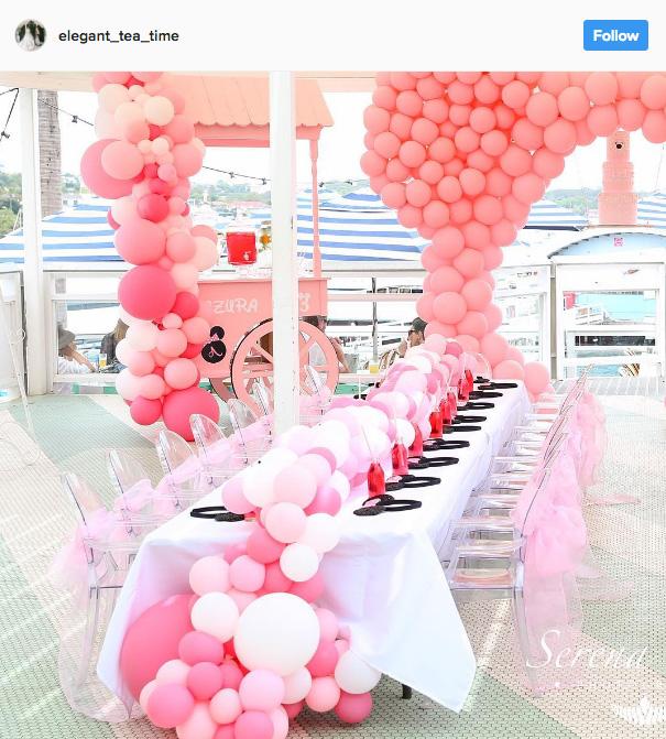 Ideia com balões - Arco de Balões Desconstruídos 20