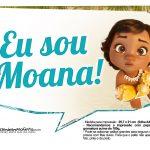 Plaquinhas para fotos Moana Baby 2