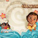 Revista Colorindo Moana Baby