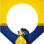 Bandeirinha Varalzinho 3 A Bela e a Fera