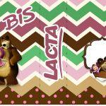 Bis Duplo Masha e o Urso Kit