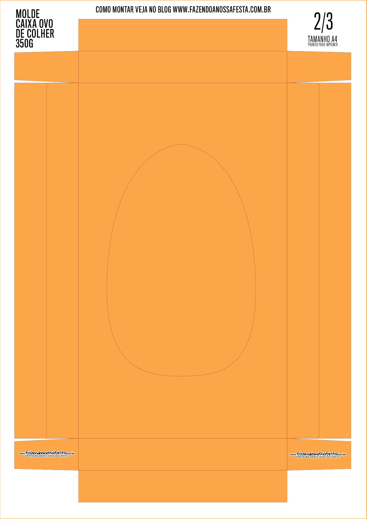 Caixa Ovo de Pascoa 3-3