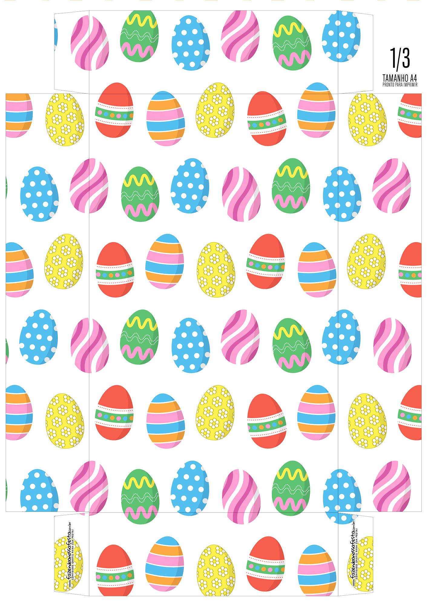 Caixa Ovo de Pascoa 6-2