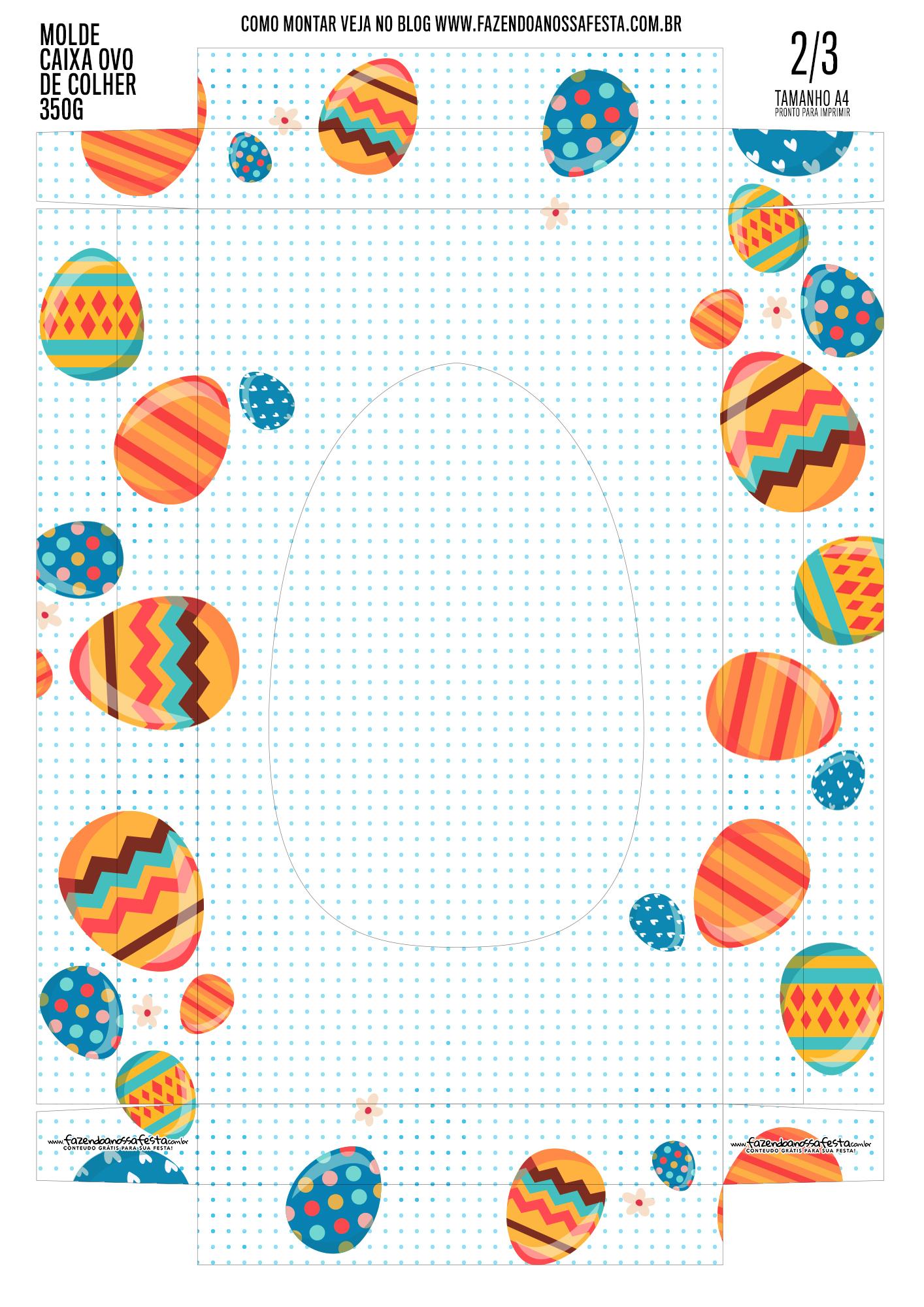 Caixa Ovo de Pascoa 8-3