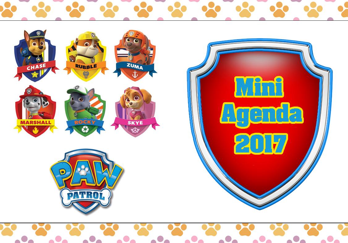 Agenda Patrulha Canina 2017 1